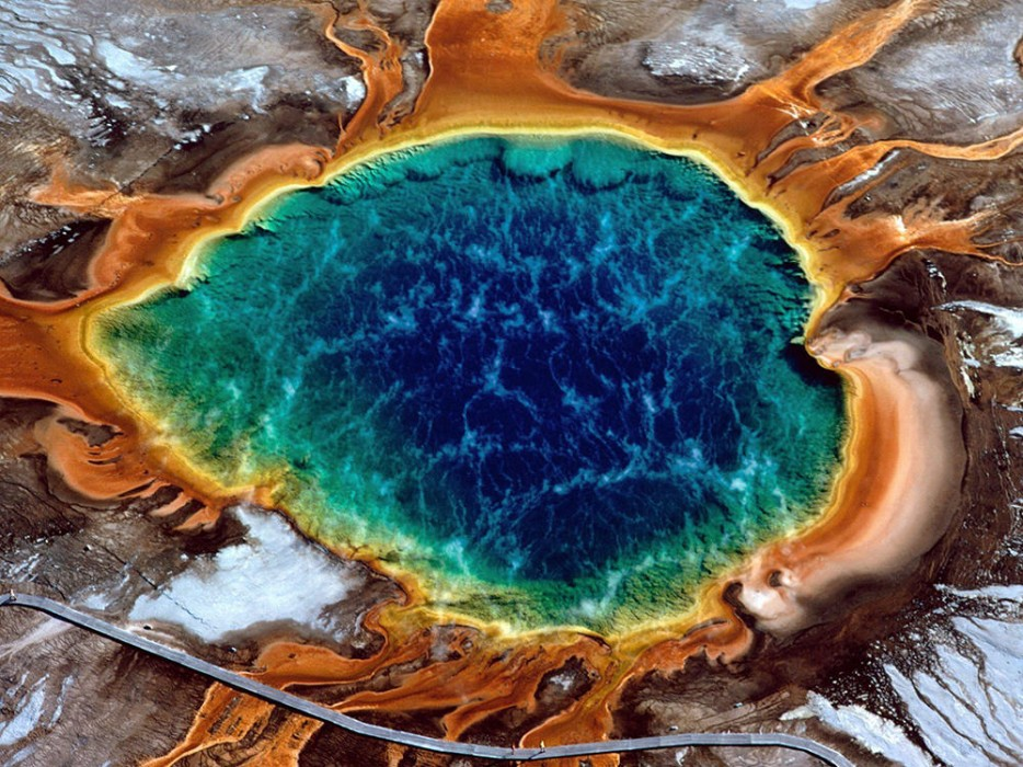 Grand Prismatic Hot Spring, Wyoming