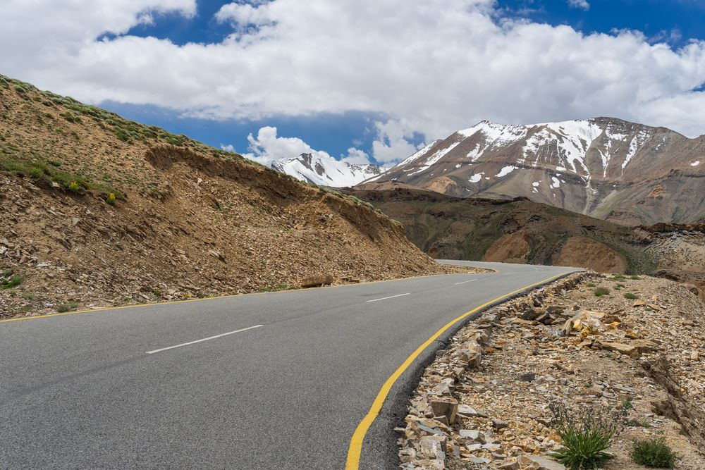 Major Routes ladakh